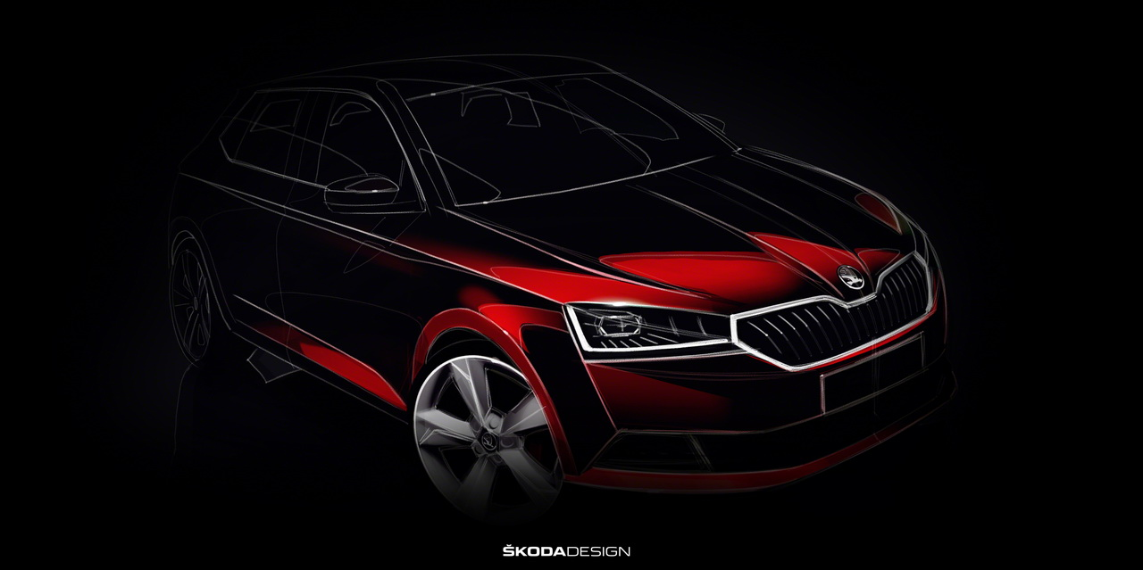 skoda fabia 2018 le restylage se pr cise skoda auto. Black Bedroom Furniture Sets. Home Design Ideas