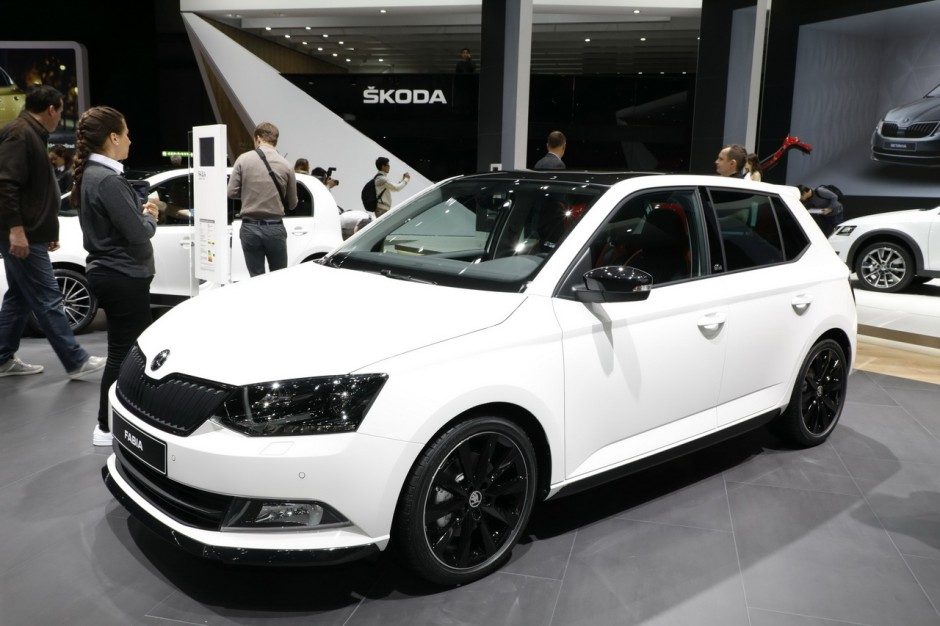 skoda fabia 2018 le restylage se pr cise photo 2 l 39 argus. Black Bedroom Furniture Sets. Home Design Ideas