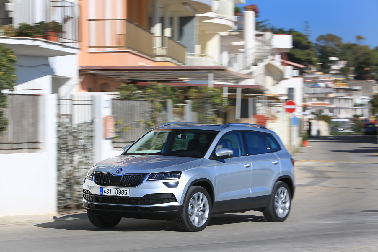 essai skoda karoq 2018 notre avis sur le tiguan tch que photo 3 l 39 argus. Black Bedroom Furniture Sets. Home Design Ideas