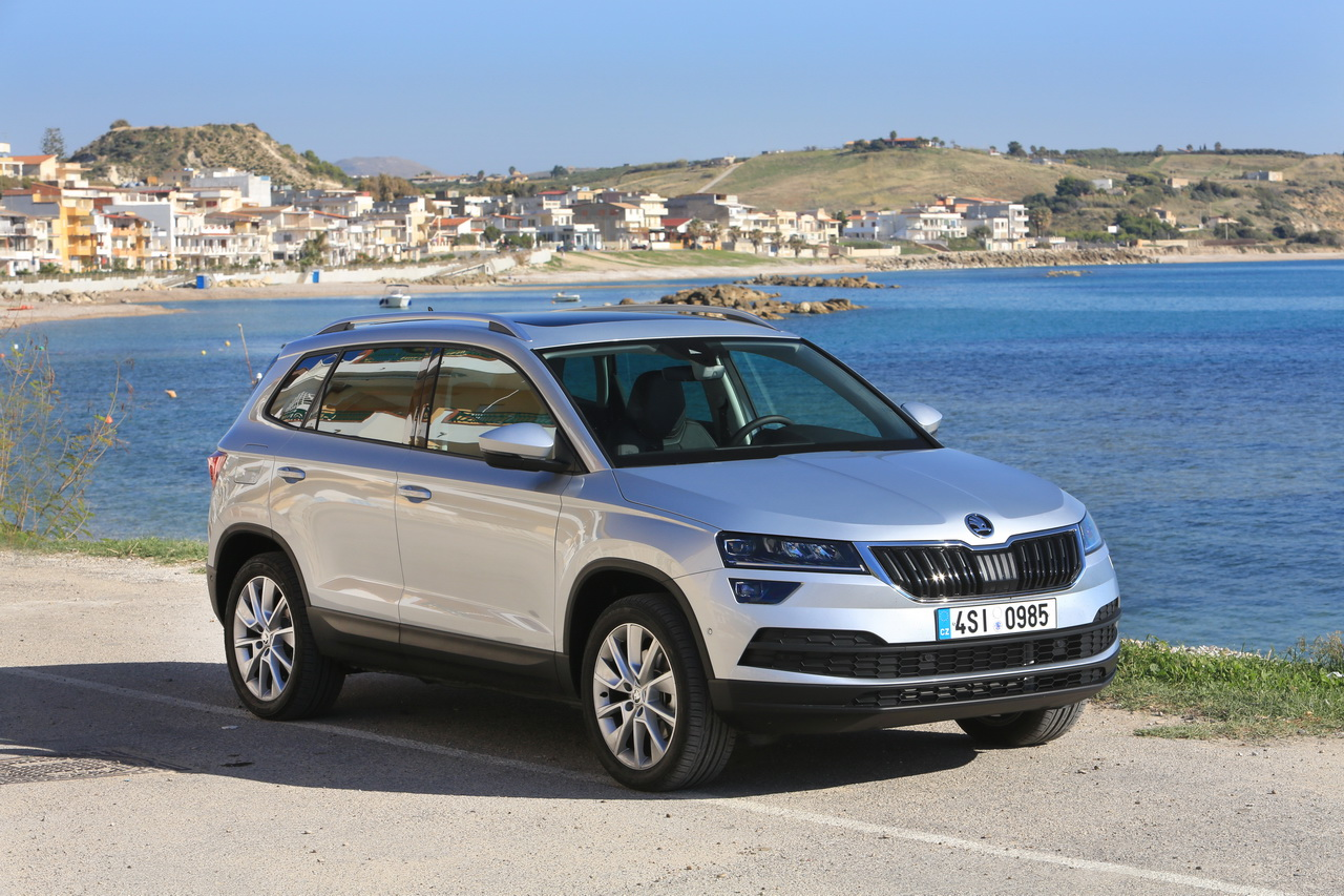 essai skoda karoq 2018 notre avis sur le tiguan tch que photo 16 l 39 argus. Black Bedroom Furniture Sets. Home Design Ideas