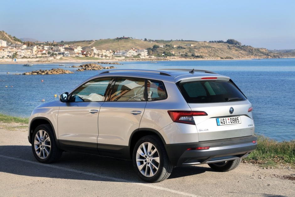 essai skoda karoq 2018 notre avis sur le tiguan tch que photo 17 l 39 argus. Black Bedroom Furniture Sets. Home Design Ideas