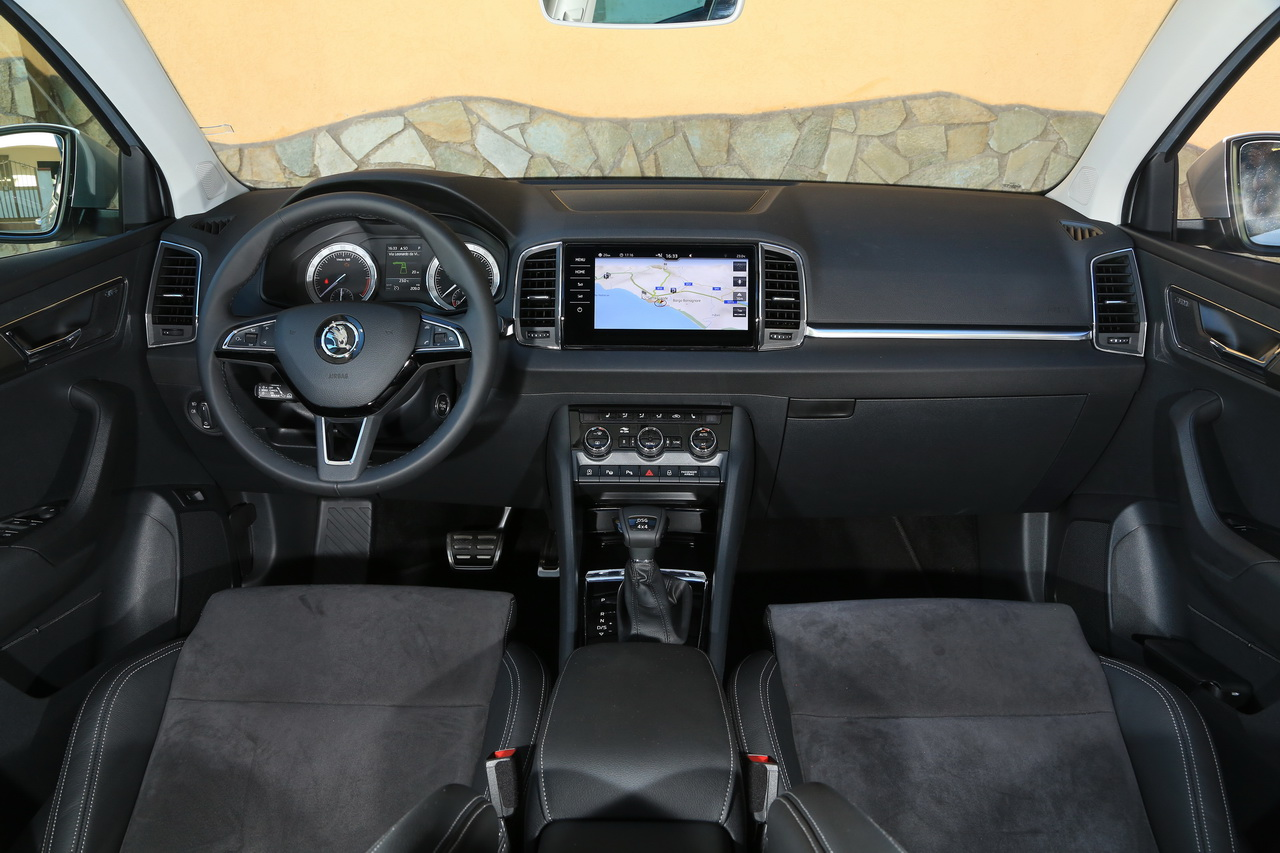 essai skoda karoq 2018 notre avis sur le tiguan tch que photo 18 l 39 argus. Black Bedroom Furniture Sets. Home Design Ideas