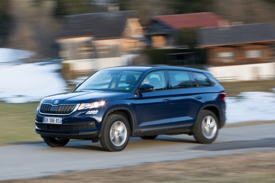 essai skoda kodiaq essence le test du kodiaq premier prix photo 10 l 39 argus. Black Bedroom Furniture Sets. Home Design Ideas