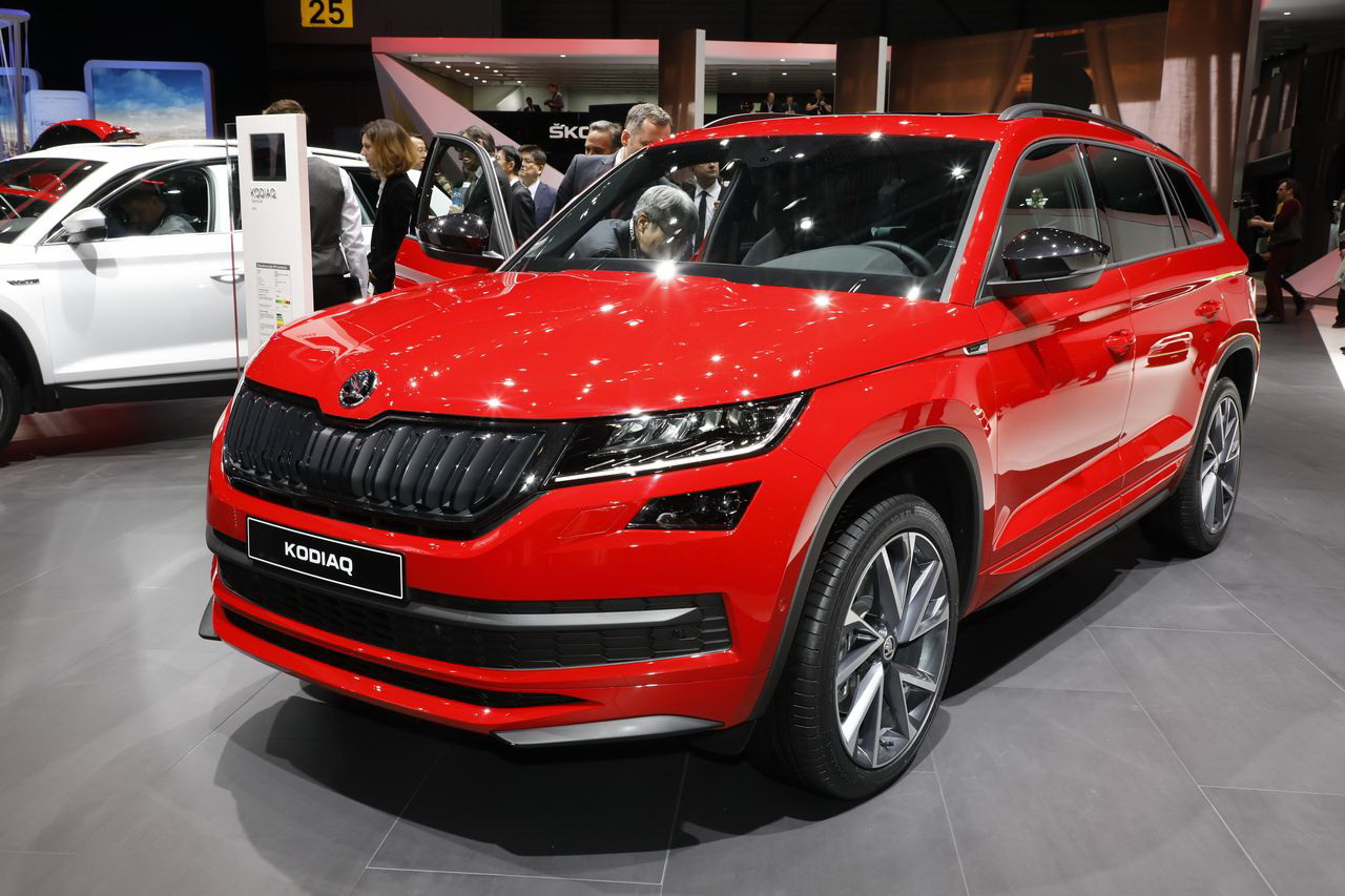 les nouveaux suv du salon de gen ve 2017 skoda kodiaq sportline l 39 argus. Black Bedroom Furniture Sets. Home Design Ideas