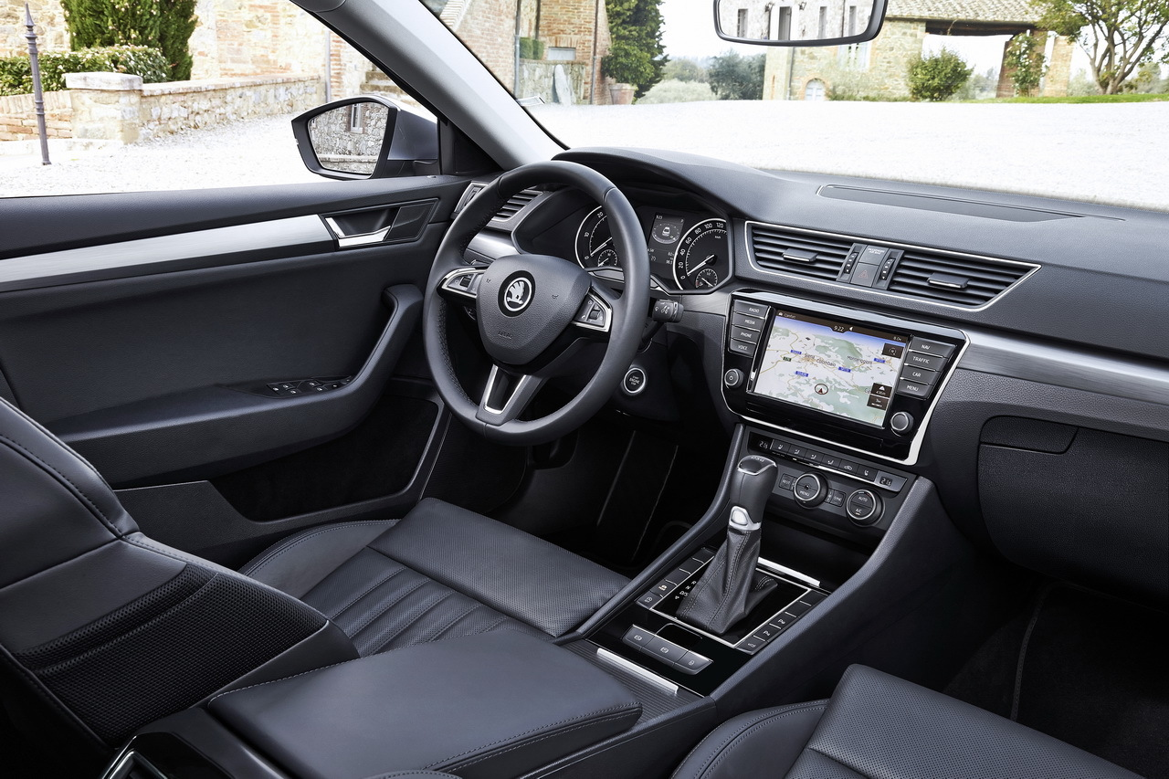 Essai nouvelle skoda superb 2015 elle m rite for Interieur sport wilkinson