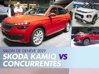 Le Skoda Kamiq face à ses concurrents