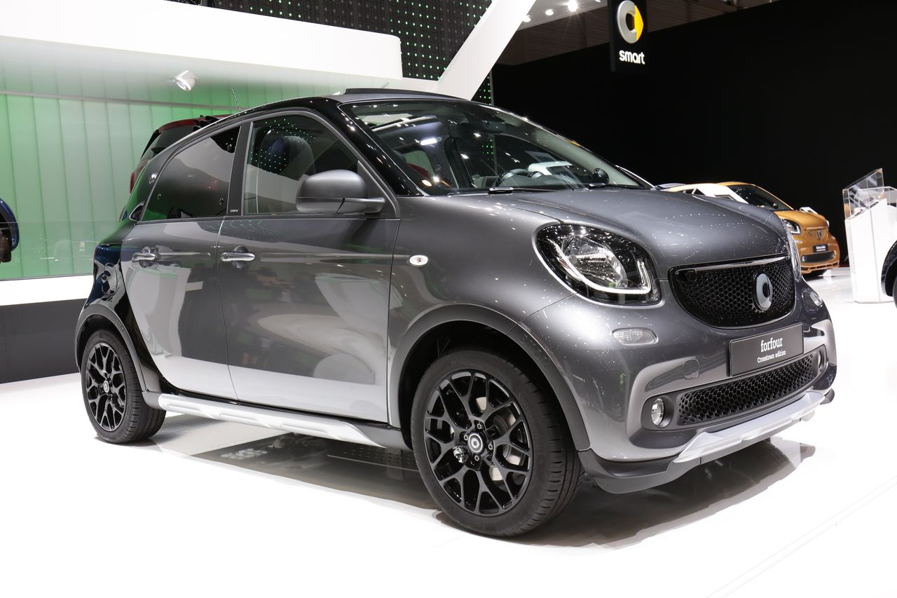 Smart Forfour Crosstown Edition : rêve de mercatique