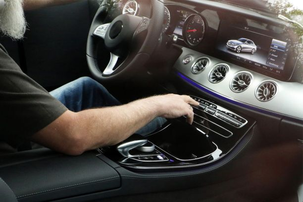 Nouvelle Mercedes Classe E Coupe Des Images De Son Interieur L Argus