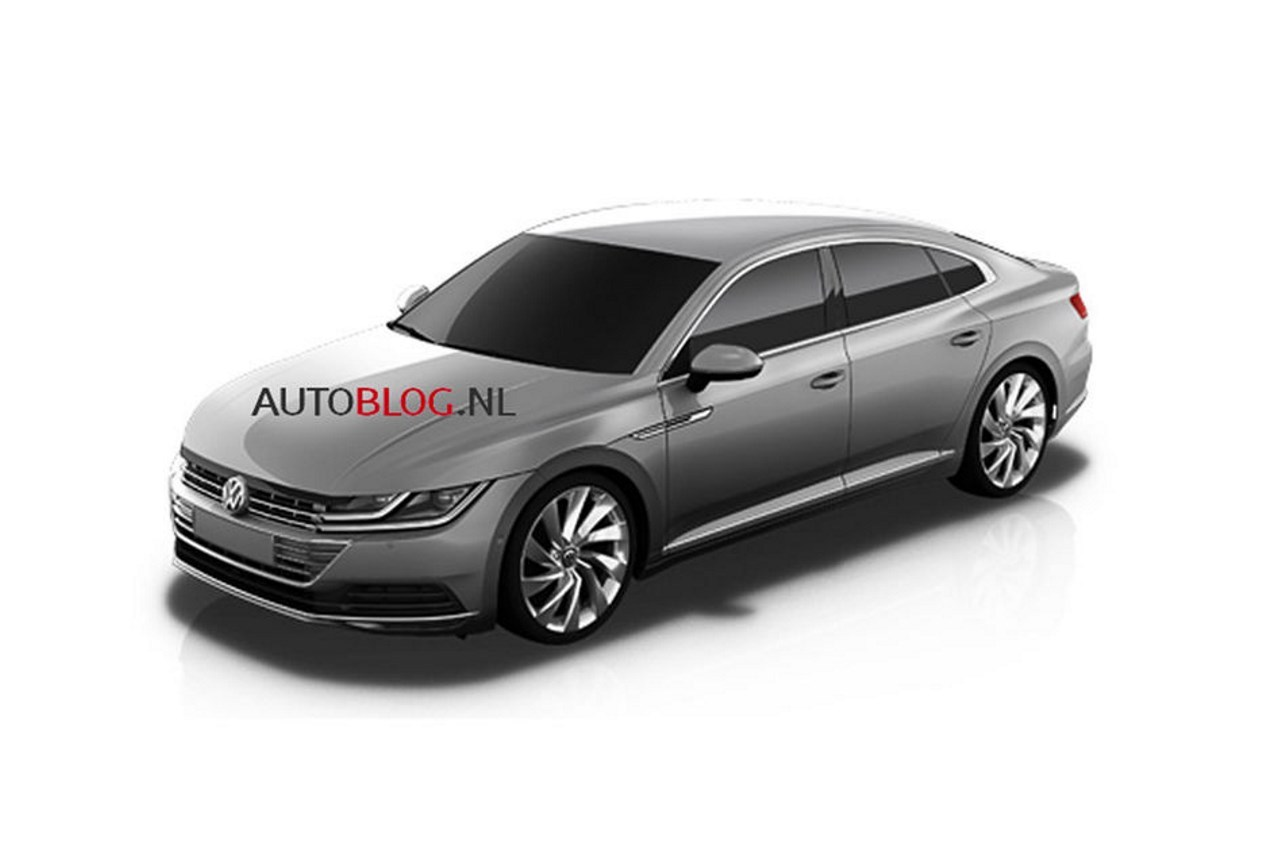 volkswagen cc 2017 premiers clich s de la nouvelle cc l 39 argus. Black Bedroom Furniture Sets. Home Design Ideas