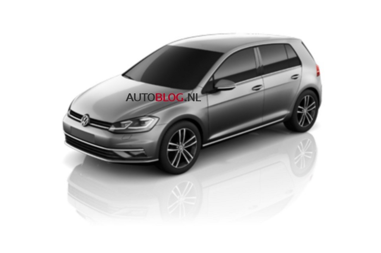 volkswagen golf 7 restyl e 2017 elle ne sera pas au mondial 2016 l 39 argus. Black Bedroom Furniture Sets. Home Design Ideas