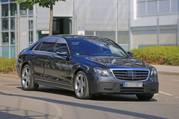 spyshots mercedes classe s 2017 un restylage discret l 39 argus. Black Bedroom Furniture Sets. Home Design Ideas