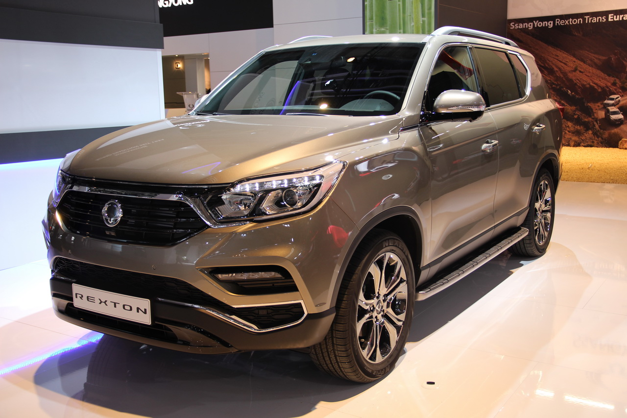 ssangyong rexton 2018 un sumo au salon de francfort photo 3 l 39 argus. Black Bedroom Furniture Sets. Home Design Ideas