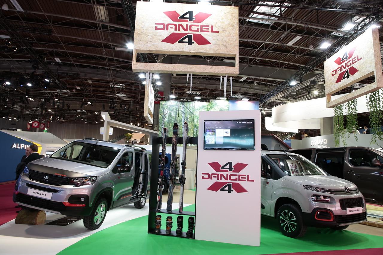 Dangel Les Rifter Berlingo Et Combo Passent En 4x4 Au Mondial