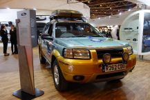 Rétromobile 2016 Land Rover Freelander TD4 « Fifty-50 Challenge » 1998