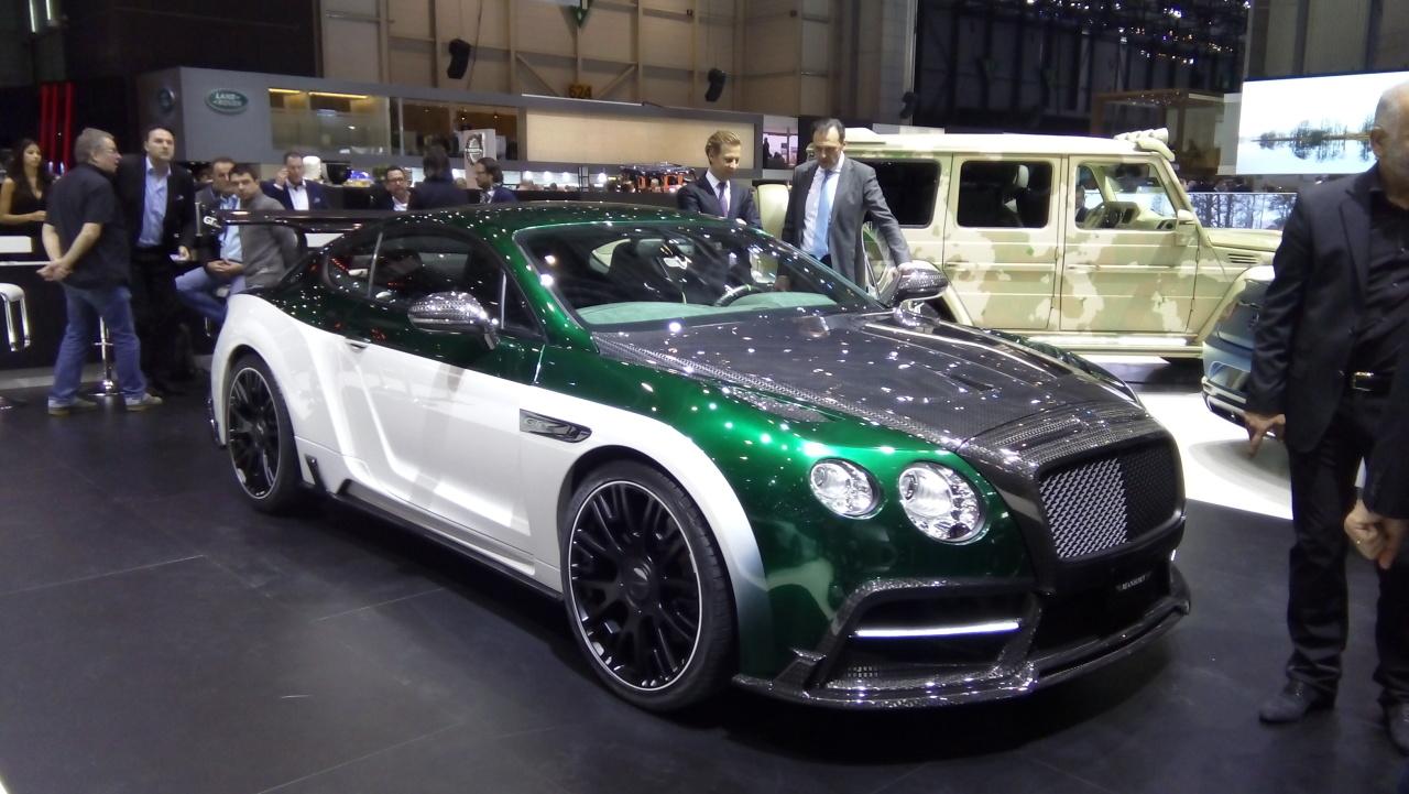 2015 Mansory Bentley Continental Gt Speed Races Dark