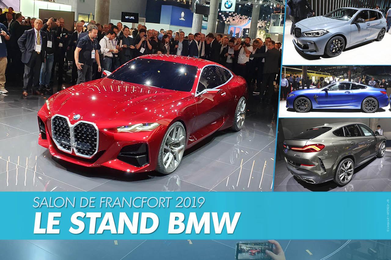 Salon de Francfort 2019 : le top BMW