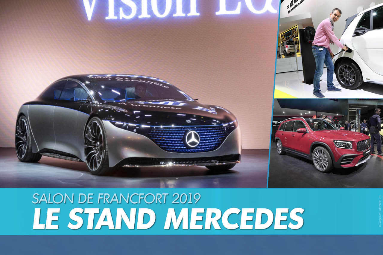 Top Mercedes : visite guidée du stand Mercedes