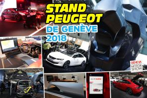 Best of stand Peugeot Genève 2018