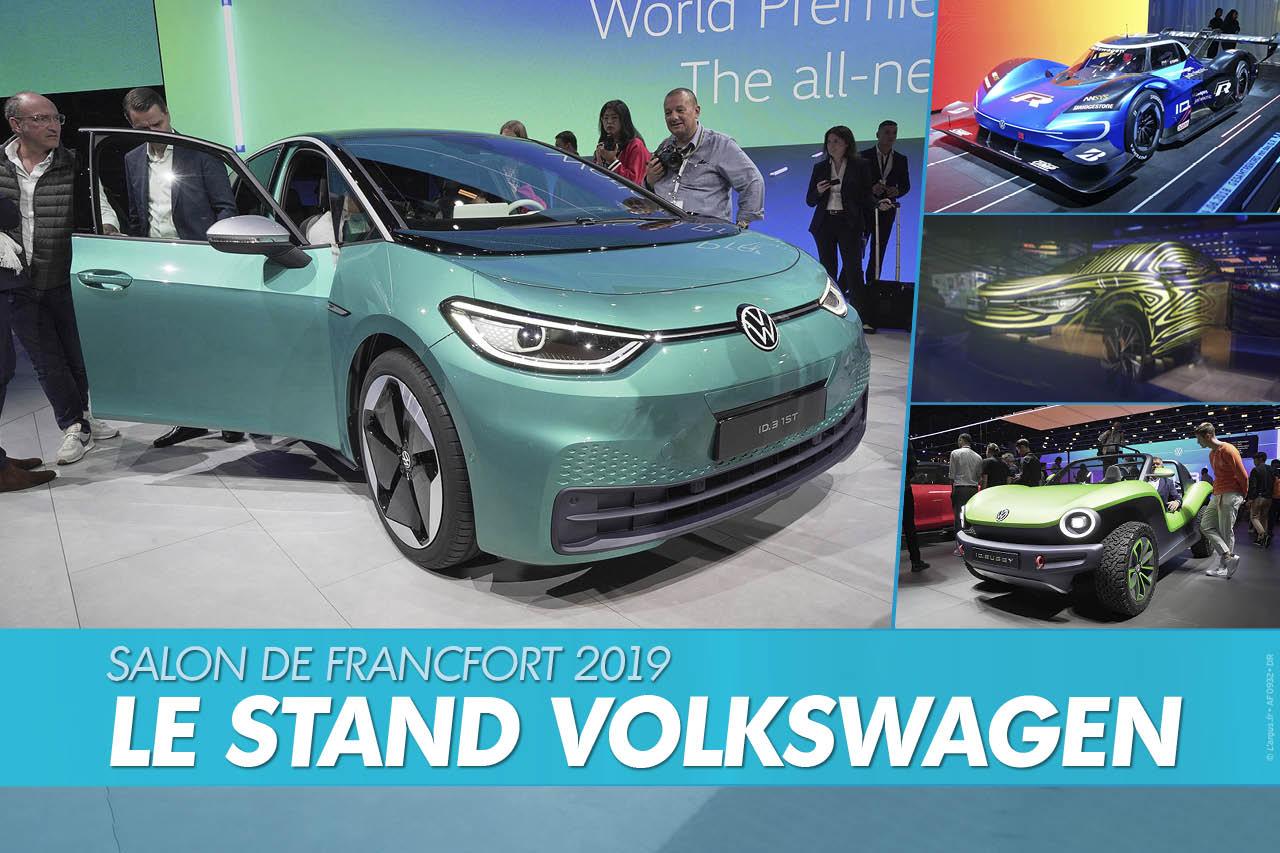 Salon de Francfort 2019 : le top du stand Volkswagen