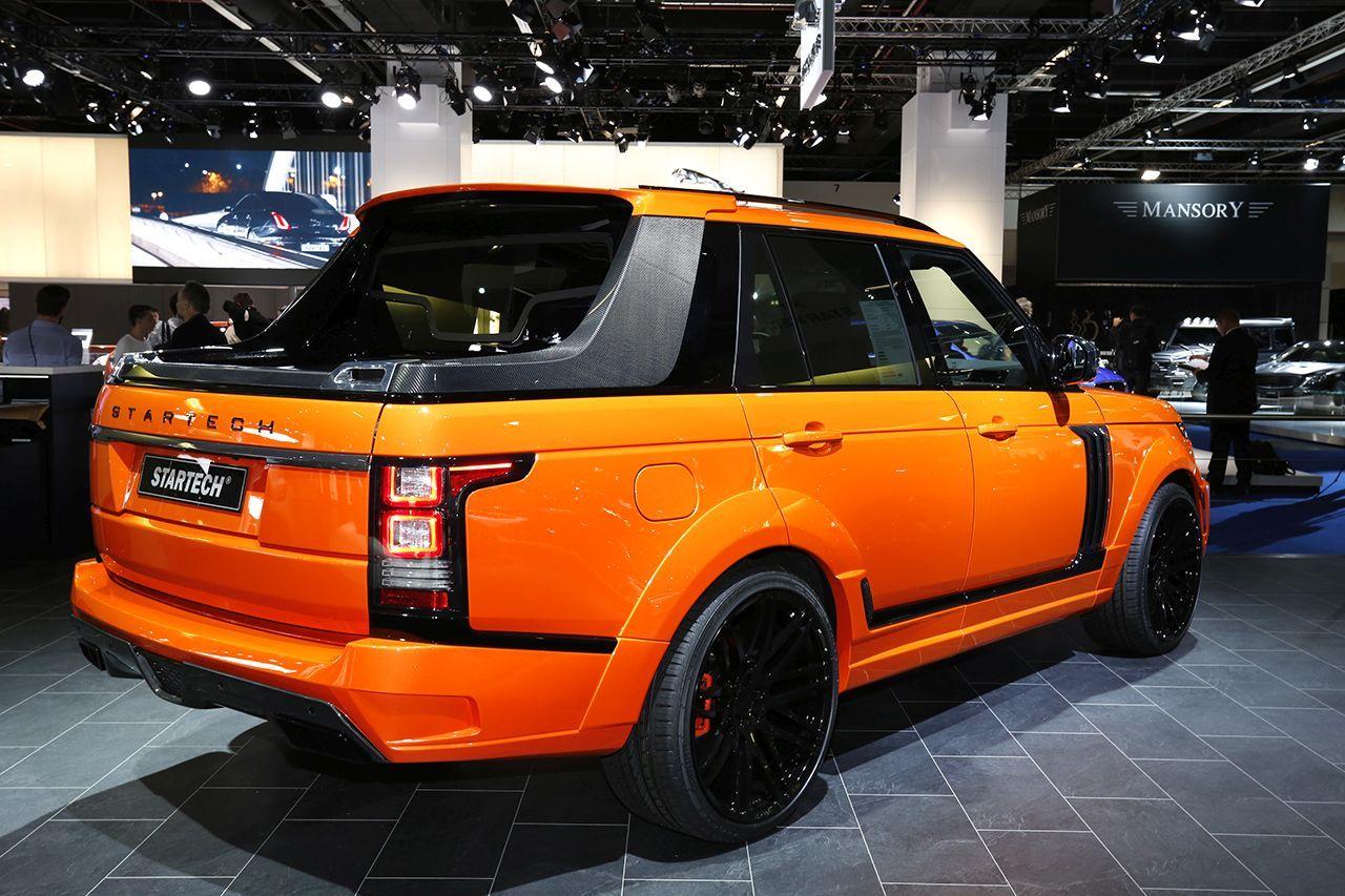startec un range rover pick up photo 1 l 39 argus. Black Bedroom Furniture Sets. Home Design Ideas
