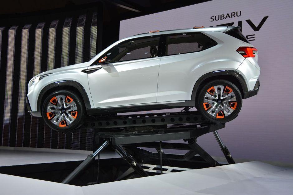 Salon De Tokyo 2015 Subaru Viziv Future Concept Photo 9 Largus