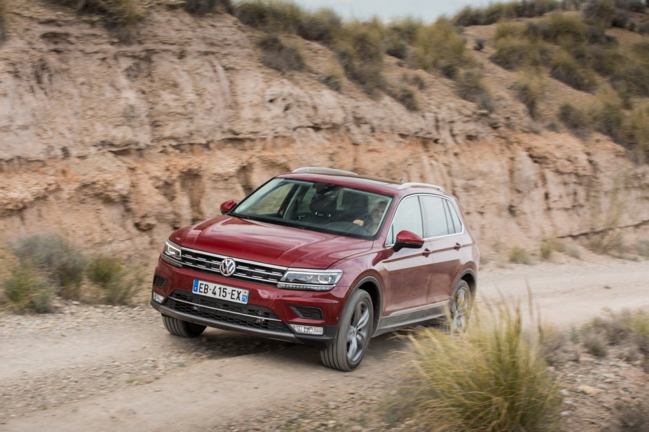 les meilleures ventes de suv en france en 2016 8 volkswagen tiguan 19 446 ventes l 39 argus. Black Bedroom Furniture Sets. Home Design Ideas