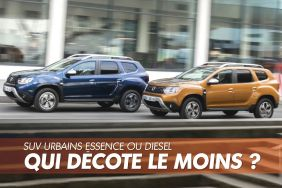 dacia duster essence ou diesel bleu orange