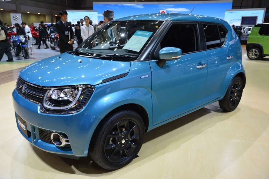 tous les nouveaux suv de 2016 suzuki ignis pr sentation. Black Bedroom Furniture Sets. Home Design Ideas