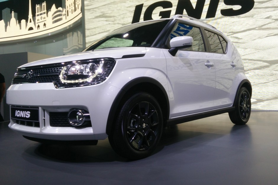 suzuki ignis le nouveau petit crossover de suzuki photo 4 l 39 argus. Black Bedroom Furniture Sets. Home Design Ideas