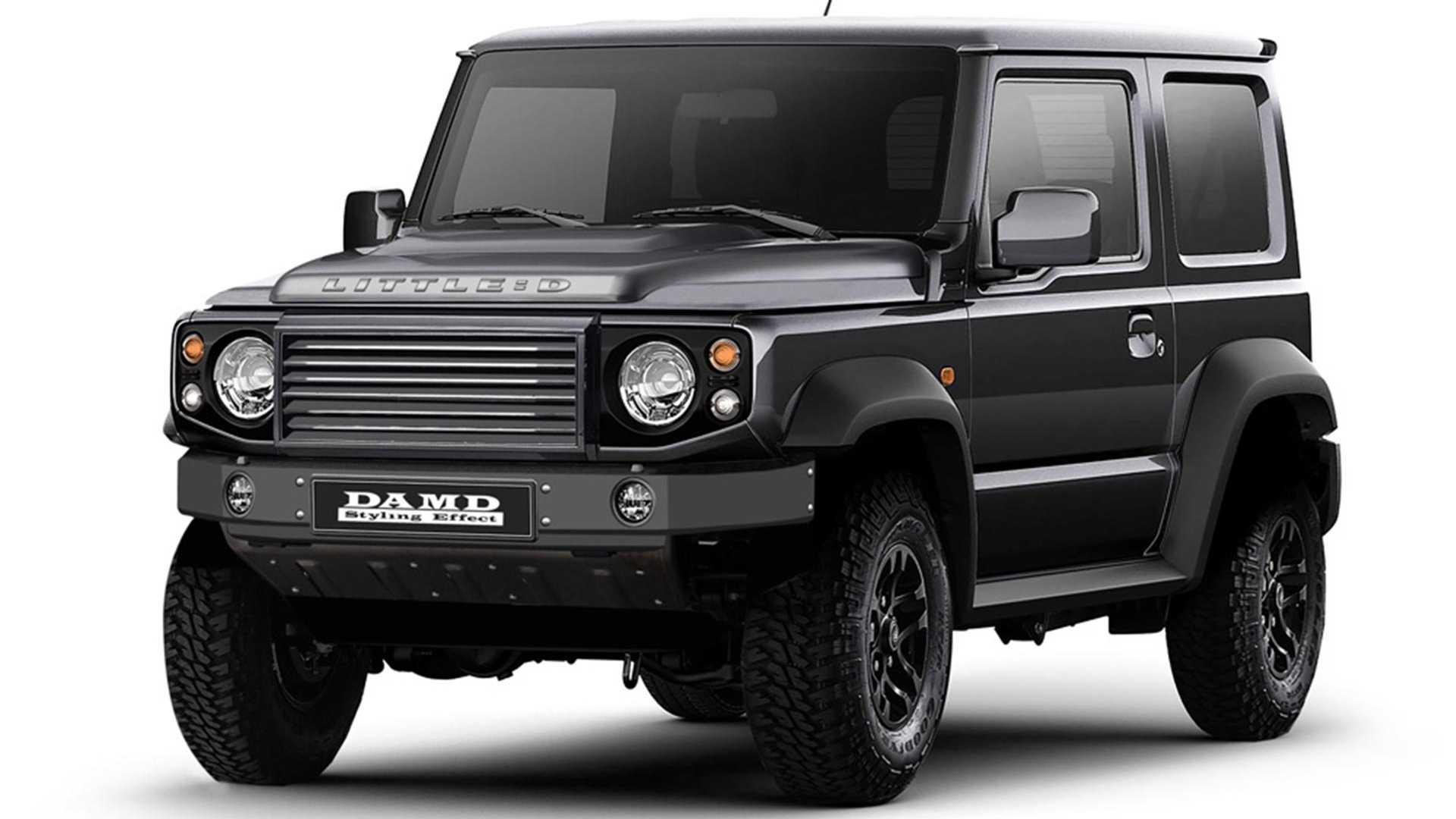 Le Suzuki Jimny devient Land Rover Defender ou Mercedes Classe G