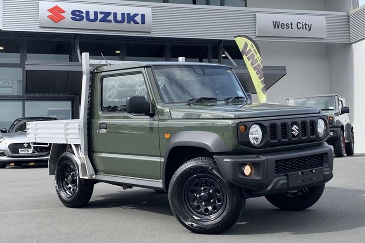 Suzuki Jimny : une version à benne disponible en Nouvelle-Zélande