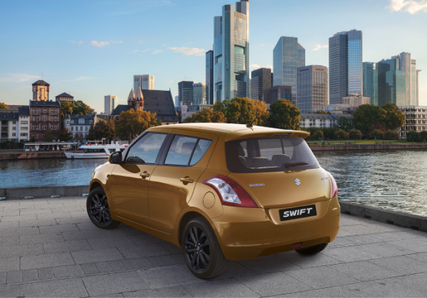 suzuki swift in the city arrière 2016