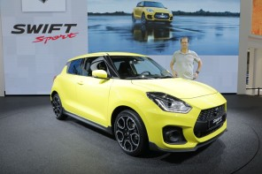 Suzuki Swift Sport (salon de Francfort 2017)