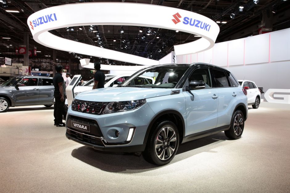 les nouveaux suv du mondial de l 39 auto 2018 suzuki vitara. Black Bedroom Furniture Sets. Home Design Ideas