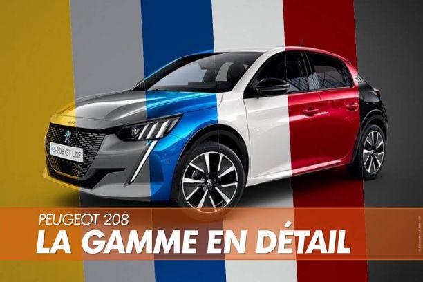 Prix Peugeot 208 E 208 Tarifs Gamme Equipements De La Nouvelle