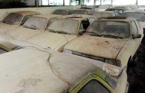 taxi bresil hangar abandon