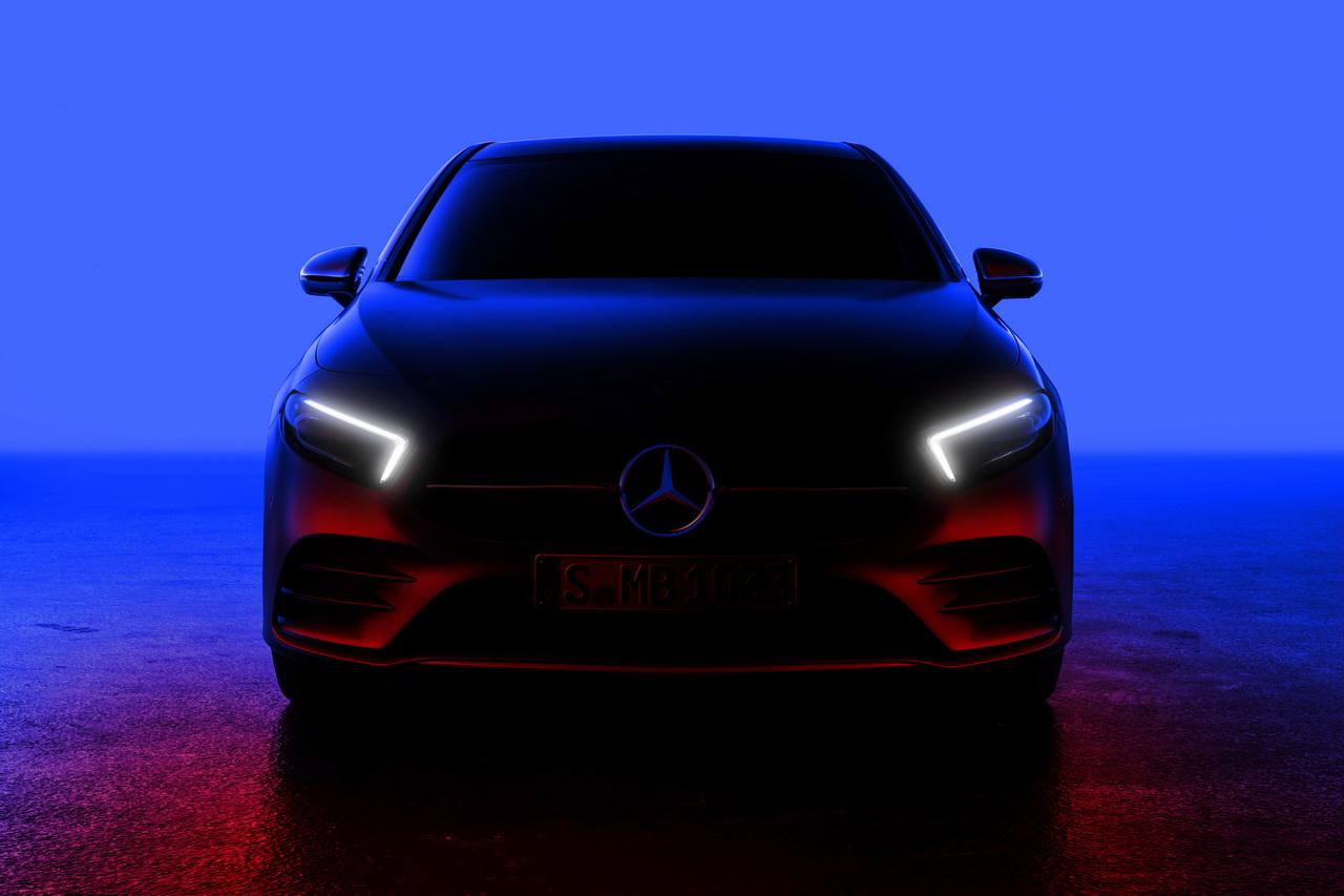 Mercedes Classe A 2018 : première photo officielle !