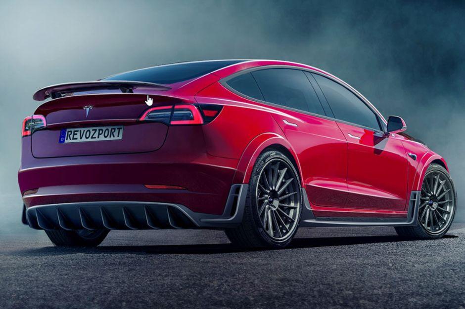 Tesla Model 3 : un kit tuning RevoZport pour la berline ...