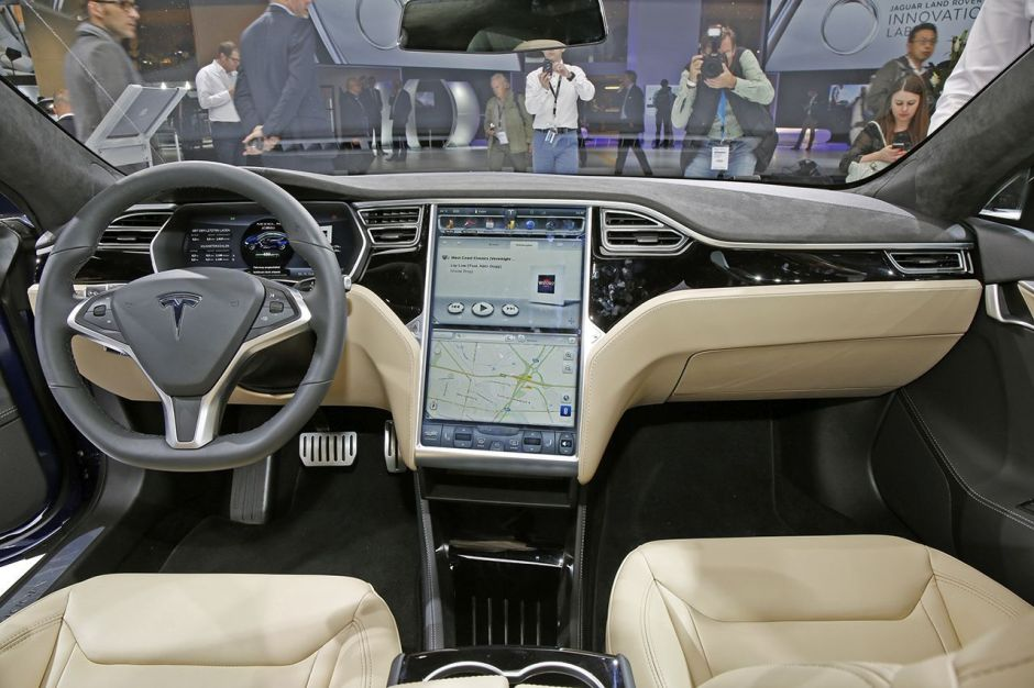 Francfort 2015. Tesla Model S P 90D : encore plus exclusive ...