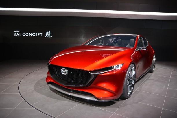 Mazda kai concept un avant go t de la future mazda 3 l for Salon de tokyo 2017