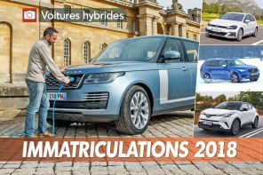 top ventes voitures hybrides 2018