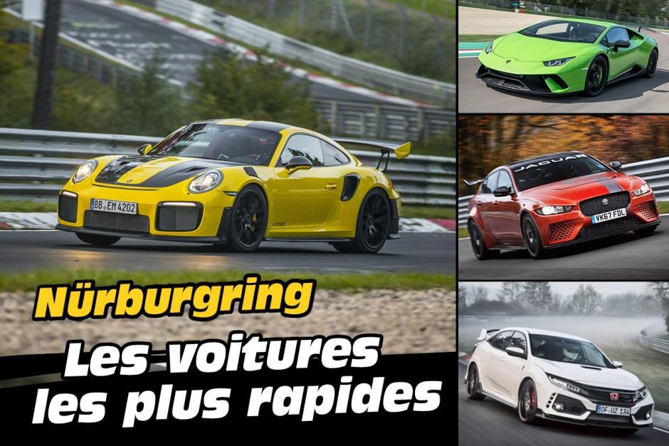 Top des voitures les plus rapides sur le n rburgring en 2018 photo 1 l 39 argus - Les voitures les plus rapides ...