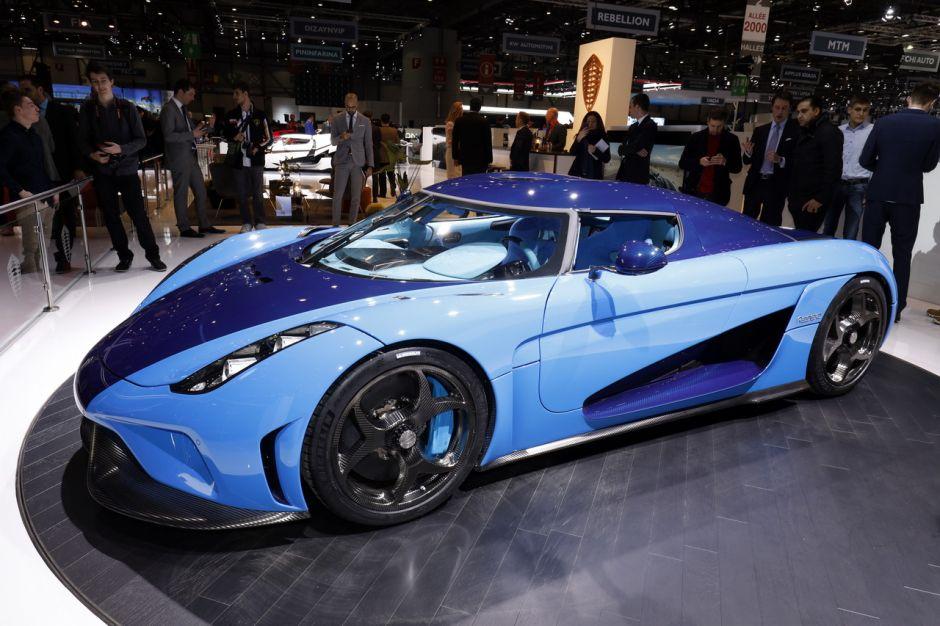 Le Top Des Supercars Du Salon De Genève 2018 Koenigsegg Regera L