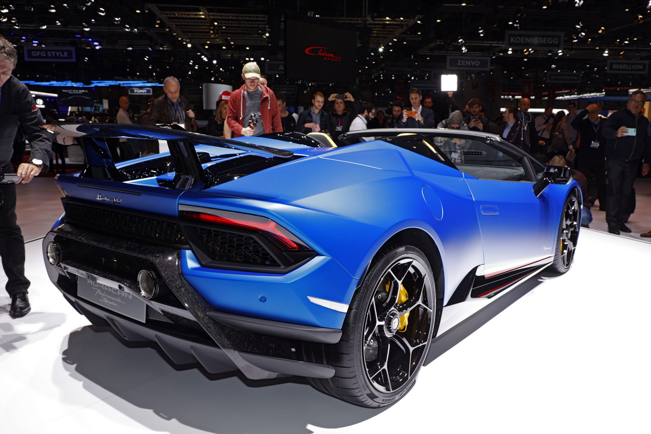 Le top des supercars du salon de gen ve 2018 lamborghini for Salon de prostitution geneve