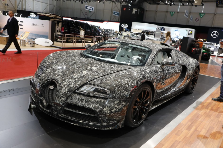 le top des supercars du salon de gen ve 2018 bugatti veyron mansory l 39 argus. Black Bedroom Furniture Sets. Home Design Ideas