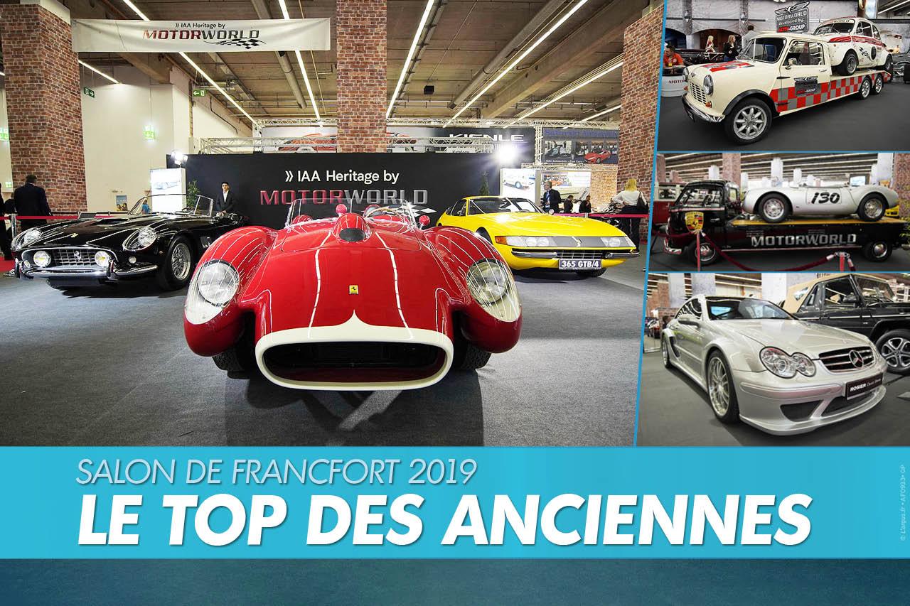 Motorworld. Les anciennes au Salon de Francfort 2019