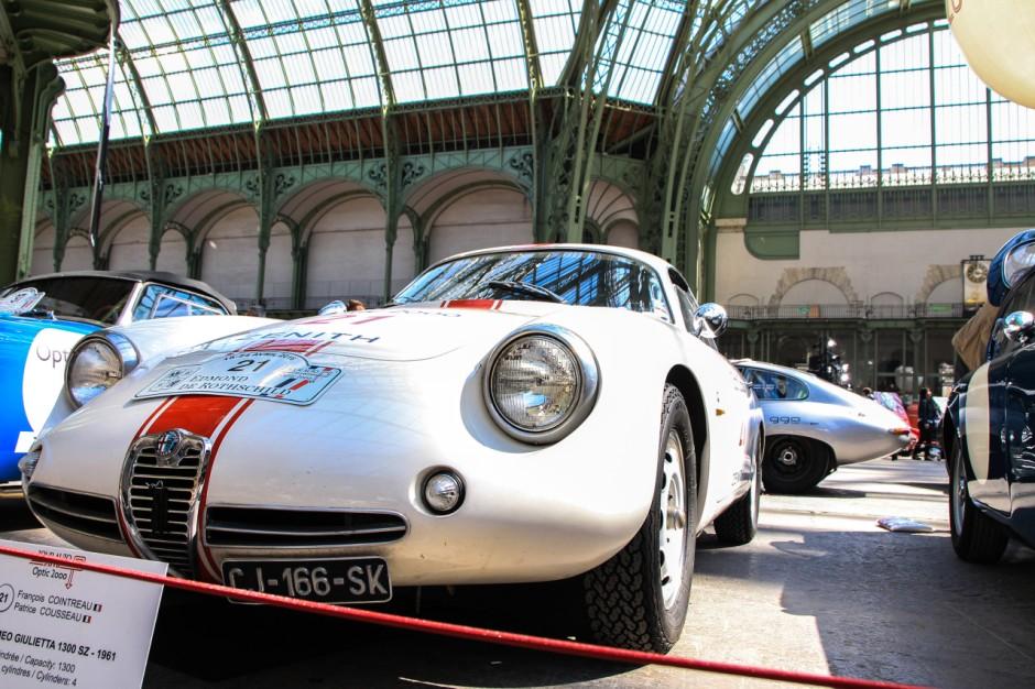 tour auto 2016 les plus belles voitures engag es alfa romeo giulietta 1300 sz 1961 l 39 argus. Black Bedroom Furniture Sets. Home Design Ideas