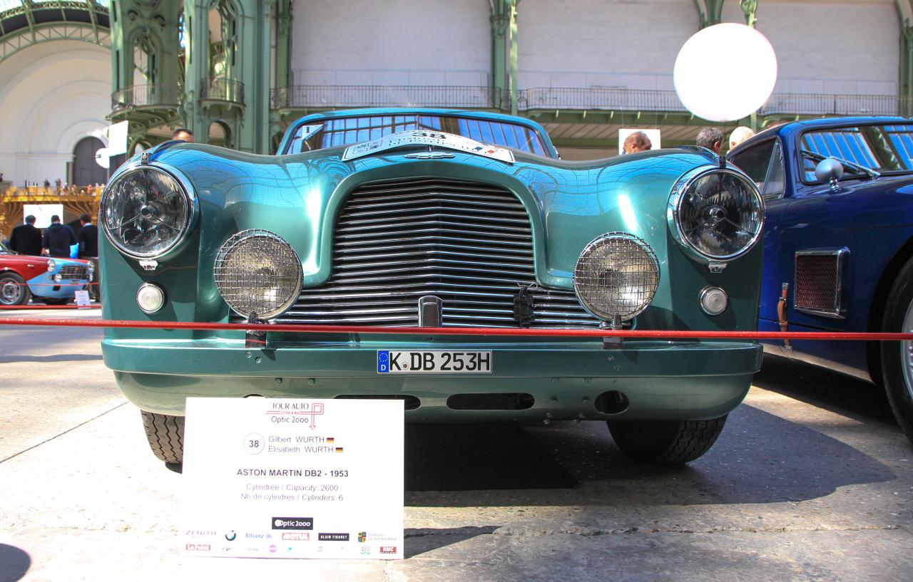 tour auto 2016 les plus belles voitures engag es aston martin db2 1953 l 39 argus. Black Bedroom Furniture Sets. Home Design Ideas