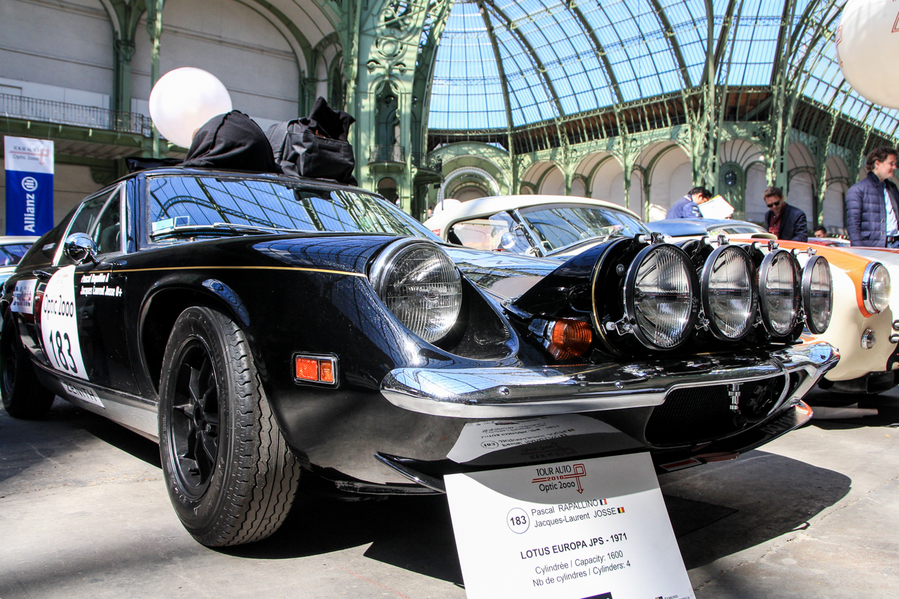 tour auto 2016 les plus belles voitures engag es lotus europa jps 1971 l 39 argus. Black Bedroom Furniture Sets. Home Design Ideas