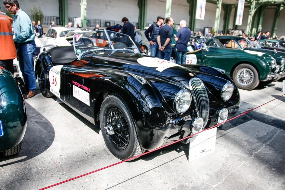 tour auto 2017 les plus belles voitures engag es jaguar xk 120 1950 l 39 argus. Black Bedroom Furniture Sets. Home Design Ideas